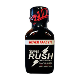 Попперс Rush  Super Black Original 30 ml PWD (Exclusive)